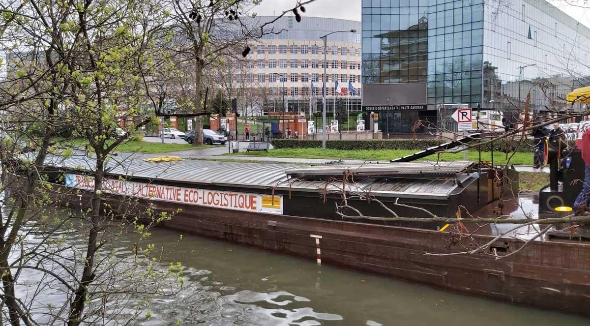 Un AMI pour le développement de la logistique fluviale à Toulouse