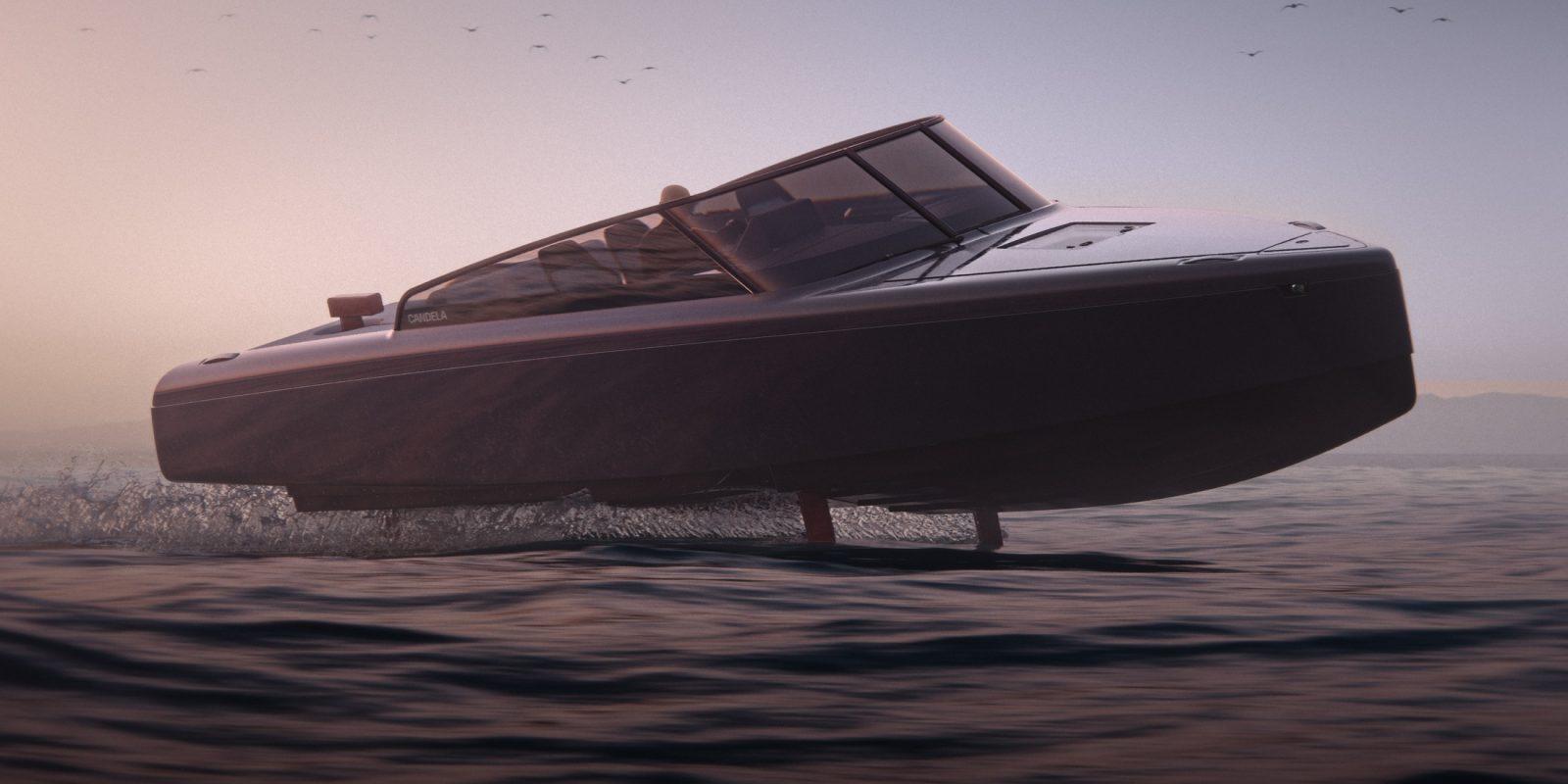 Candela C-8 : le nouveau bateau électrique à foils se dévoile