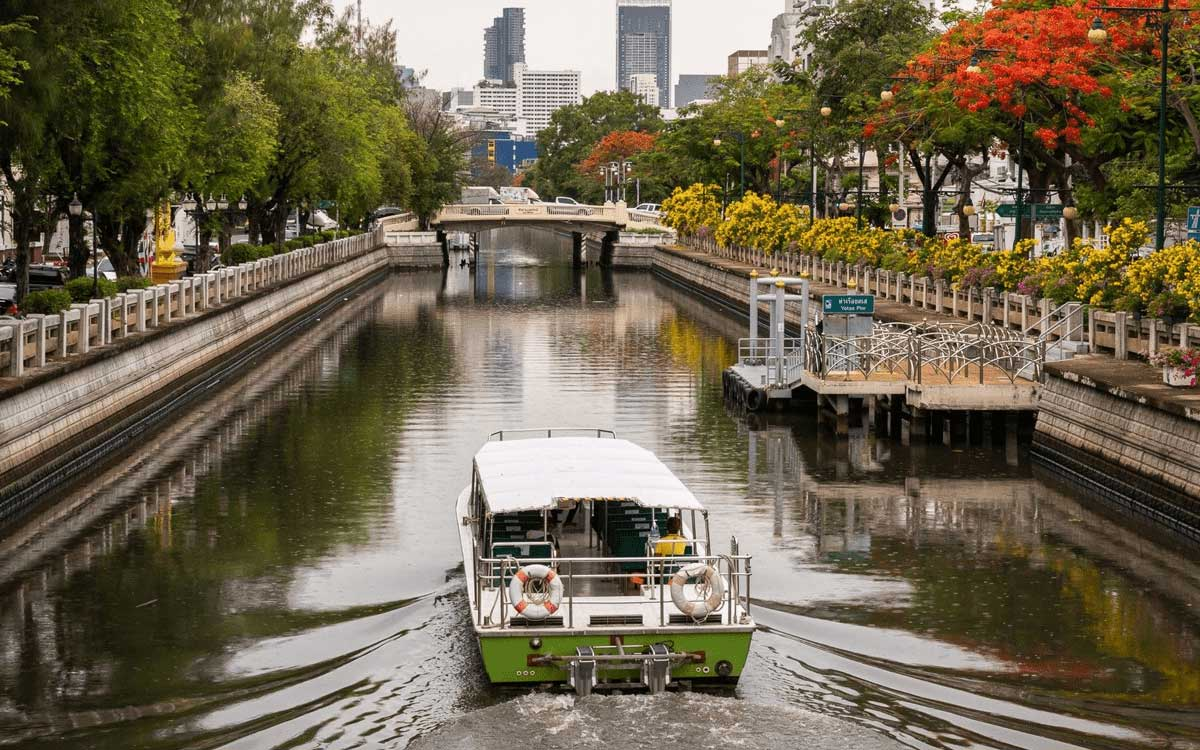 Thaïlande : 12 nouveaux bateaux électriques pour Bangkok