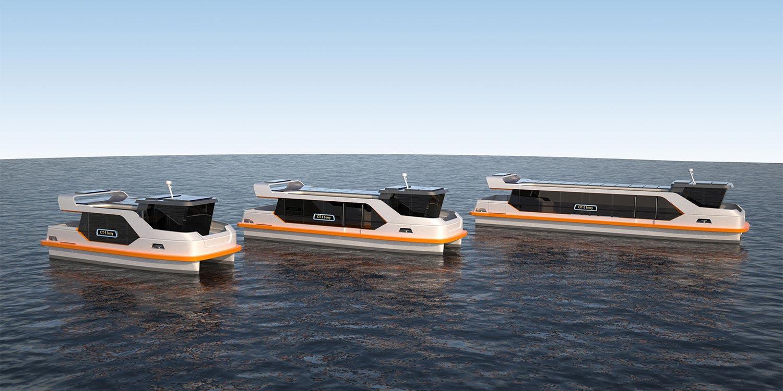 Fassmer présente un concept ferry électrique