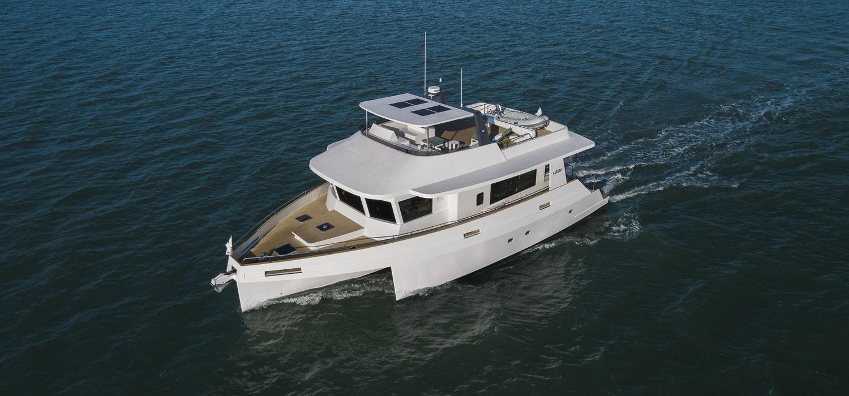 Bellmarine équipe le premier bateau hybride de Neel-Trimarans